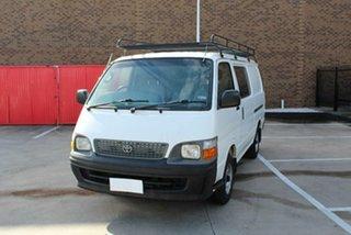 2002 Toyota HiAce RZH113R White 4 Speed Automatic Long Van.