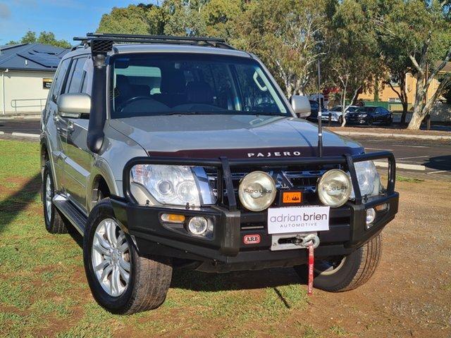 Used Mitsubishi Pajero NW MY12 VR-X St Marys, 2012 Mitsubishi Pajero NW MY12 VR-X Gold 5 Speed Sports Automatic Wagon