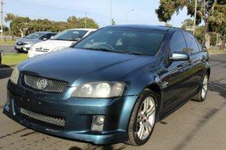 2009 Holden Commodore VE MY10 SV6 Blue 6 Speed Sports Automatic Sedan.