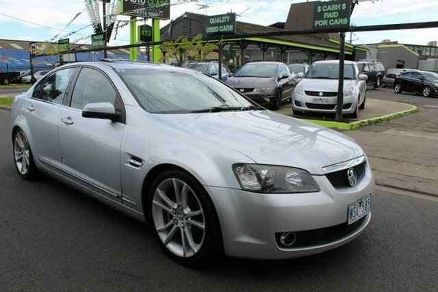 Used Holden Calais VE MY08.5 V 60th Anniversary West Footscray, 2008 Holden Calais VE MY08.5 V 60th Anniversary Silver 5 Speed Sports Automatic Sedan