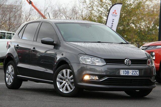 Used Volkswagen Polo 6R MY15 81TSI Comfortline Essendon North, 2015 Volkswagen Polo 6R MY15 81TSI Comfortline Grey 6 Speed Manual Hatchback