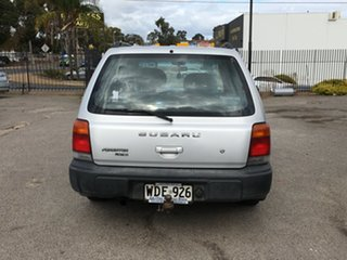 1998 Subaru Forester 79V Limited AWD Silver 4 Speed Automatic Wagon