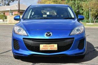 2012 Mazda 3 BL10F2 Neo Blue 6 Speed Manual Hatchback.