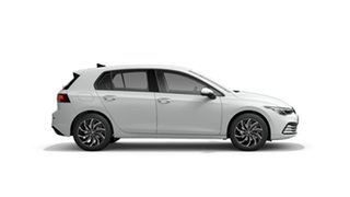 2021 Volkswagen Golf 8 MY21 110TSI Life Pure White 8 Speed Sports Automatic Hatchback
