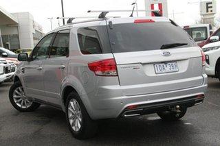 2016 Ford Territory SZ MkII TX Seq Sport Shift AWD Silver, Chrome 6 Speed Sports Automatic Wagon.