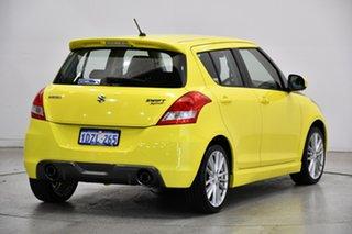 2012 Suzuki Swift FZ Sport Yellow 6 Speed Manual Hatchback