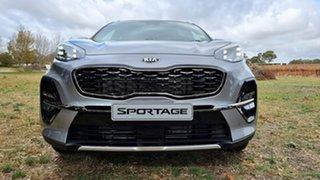 2021 Kia Sportage QL MY21 GT-Line AWD Steel Grey 6 Speed 6AT Wagon.