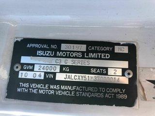 2004 Isuzu Giga Custom White Prime Mover 14.3l