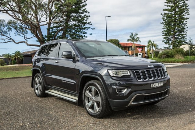 Used Jeep Grand Cherokee WK MY15 Limited Port Macquarie, 2015 Jeep Grand Cherokee WK MY15 Limited Maximum Steel 8 Speed Sports Automatic Wagon