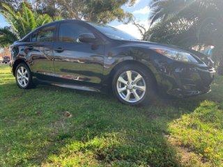 2009 Mazda 3 BL10F1 Maxx Sport Black/Grey 6 Speed Manual Sedan
