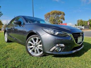 2014 Mazda 3 BM5238 SP25 SKYACTIV-Drive GT Meteor Grey 6 Speed Sports Automatic Sedan.