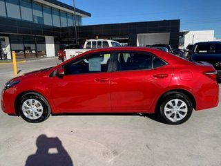 2016 Toyota Corolla ZRE172R Ascent S-CVT Red 7 Speed Constant Variable Sedan