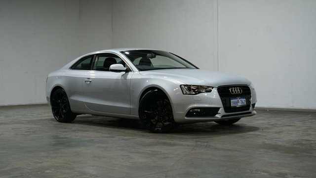 Used Audi A5 8T MY15 (N5) S Tronic Quattro Welshpool, 2014 Audi A5 8T MY15 (N5) S Tronic Quattro Silver 7 Speed Sports Automatic Dual Clutch Coupe