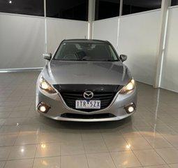 2014 Mazda 3 BM5438 SP25 SKYACTIV-Drive Silver 6 Speed Sports Automatic Hatchback.