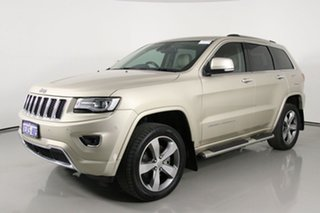 2015 Jeep Grand Cherokee WK MY15 Overland (4x4) Gold 8 Speed Automatic Wagon.