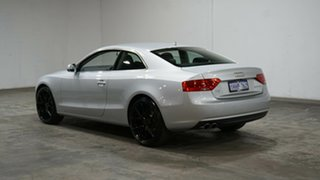 2014 Audi A5 8T MY15 (N5) S Tronic Quattro Silver 7 Speed Sports Automatic Dual Clutch Coupe.