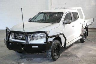 2015 Nissan Navara D23 RX White 7 Speed Sports Automatic Utility.