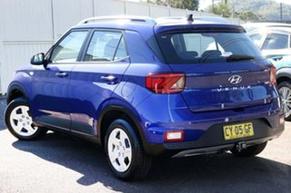 2020 Hyundai Venue QX MY20 Go Blue 6 Speed Automatic Wagon.
