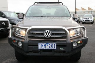 2013 Volkswagen Amarok 2H MY13 TDI420 4Motion Perm Ultimate Brown 8 Speed Automatic Utility
