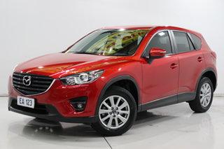 2015 Mazda CX-5 KE1072 Maxx SKYACTIV-Drive Sport Red 6 Speed Sports Automatic Wagon.