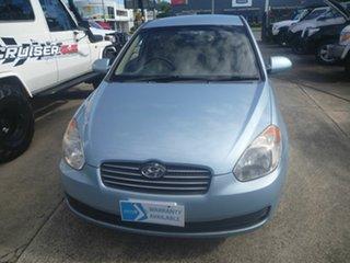 2007 Hyundai Accent MC MY07 S Blue 5 Speed Manual Sedan