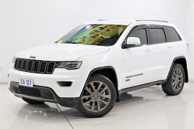 Used Jeep Grand Cherokee WK MY16 75th Anniversary Brooklyn, 2016 Jeep Grand Cherokee WK MY16 75th Anniversary White 8 Speed Sports Automatic Wagon