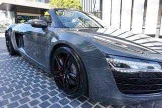 2013 Audi R8 Daytona Grey 7 Speed Sports Automatic Dual Clutch Convertible