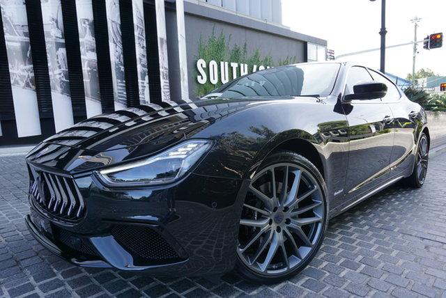 Used Maserati Ghibli M157 S Gransport East Brisbane, 2018 Maserati Ghibli M157 S Gransport Nero Black 8 Speed Sports Automatic Sedan