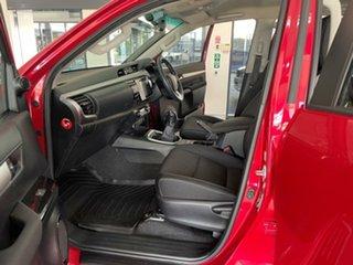 2015 Toyota Hilux GUN126R SR5 Double Cab Maroon 6 Speed Manual Utility