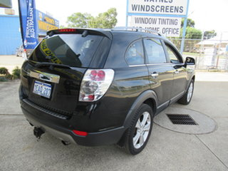 2012 Holden Captiva CG Series II 7 LX Black 6 Speed Automatic Wagon