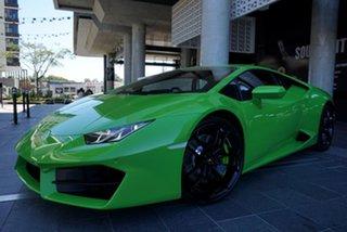 2019 Lamborghini Huracan 724 LP580-2 Verde Mantis 7 Speed Sports Automatic Dual Clutch Coupe.