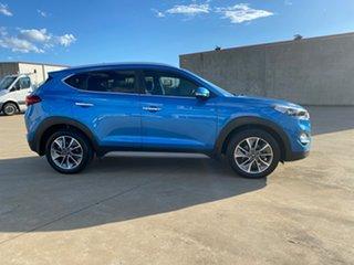 2017 Hyundai Tucson TLe MY17 Elite AWD Blue 6 Speed Sports Automatic Wagon.