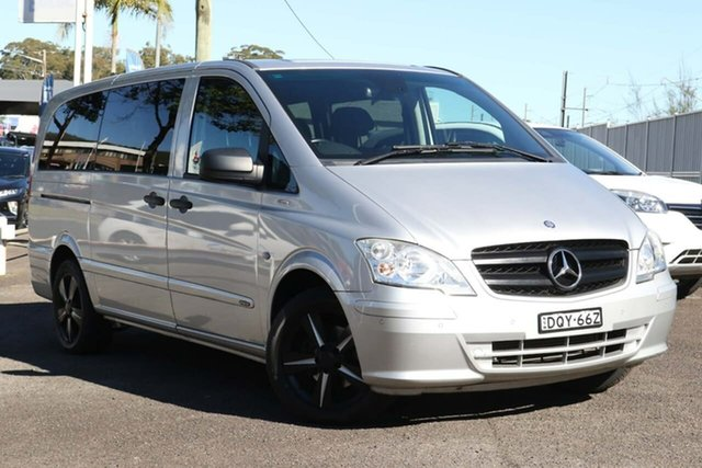 Used Mercedes-Benz Valente 639 BlueEFFICIENCY North Gosford, 2013 Mercedes-Benz Valente 639 BlueEFFICIENCY Silver 5 Speed Automatic Wagon