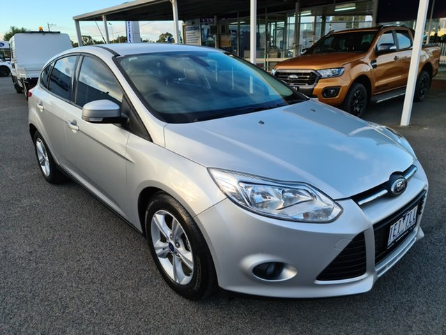 Used Ford Focus LW MkII Trend PwrShift Epsom, 2014 Ford Focus LW MkII Trend PwrShift Ingot Silver 6 Speed Sports Automatic Dual Clutch Hatchback