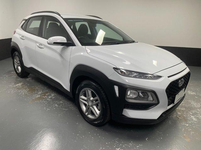 Used Hyundai Kona OS MY18 Active 2WD Hamilton, 2018 Hyundai Kona OS MY18 Active 2WD White 6 Speed Sports Automatic Wagon
