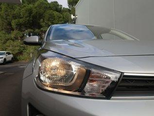 2020 Kia Rio YB MY21 S Silver 6 Speed Automatic Hatchback.