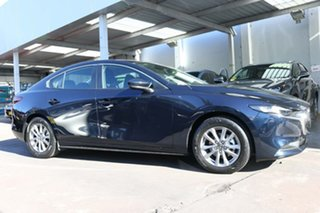 2020 Mazda 3 BP2S7A G20 SKYACTIV-Drive Pure Blue 6 Speed Sports Automatic Sedan.