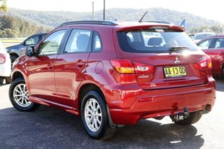 2011 Mitsubishi ASX XA MY11 2WD Red 6 Speed Constant Variable Wagon.