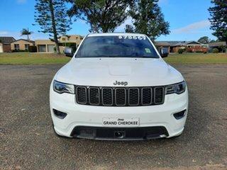 2021 Jeep Grand Cherokee WK MY21 80th Anniversary Bright White 8 Speed Sports Automatic Wagon.