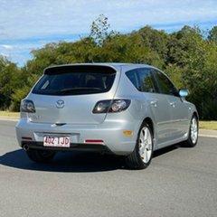 2004 Mazda 3 BK1031 SP23 Silver 4 Speed Sports Automatic Hatchback