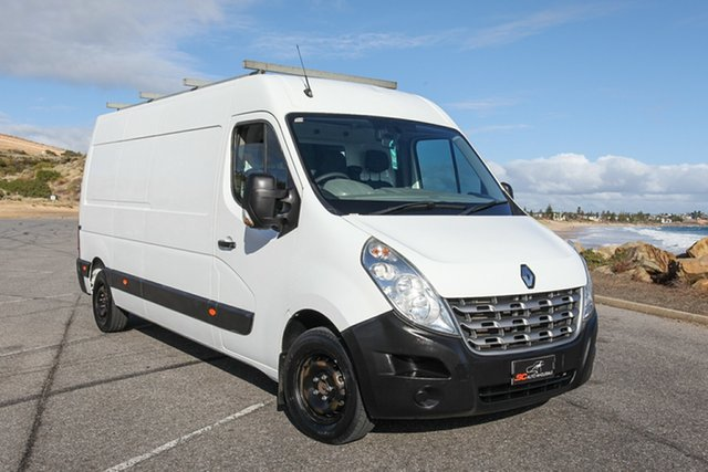 Used Renault Master X62 Mid Roof LWB Lonsdale, 2012 Renault Master X62 Mid Roof LWB White 6 Speed Manual Van