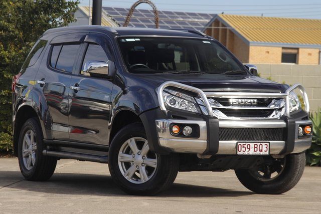 Used Isuzu MU-X MY15.5 LS-T Rev-Tronic Bundamba, 2016 Isuzu MU-X MY15.5 LS-T Rev-Tronic Blue 5 Speed Sports Automatic Wagon