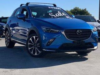 2019 Mazda CX-3 DK2W7A Akari SKYACTIV-Drive FWD Aqua 6 Speed Sports Automatic Wagon.