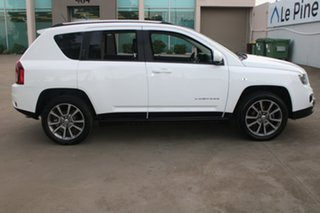 2013 Jeep Compass MK MY14 Limited (4x4) White 6 Speed Automatic Wagon