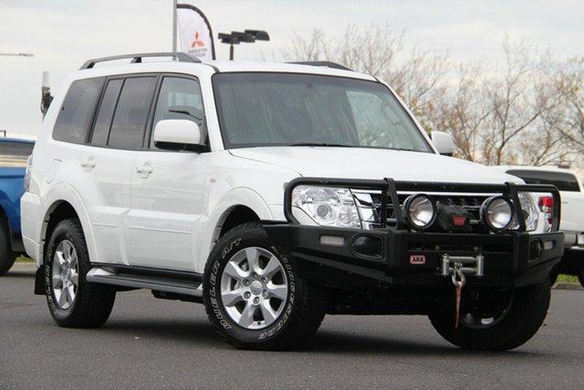 Used Mitsubishi Pajero NX MY18 GLX Essendon North, 2018 Mitsubishi Pajero NX MY18 GLX White 5 Speed Sports Automatic Wagon