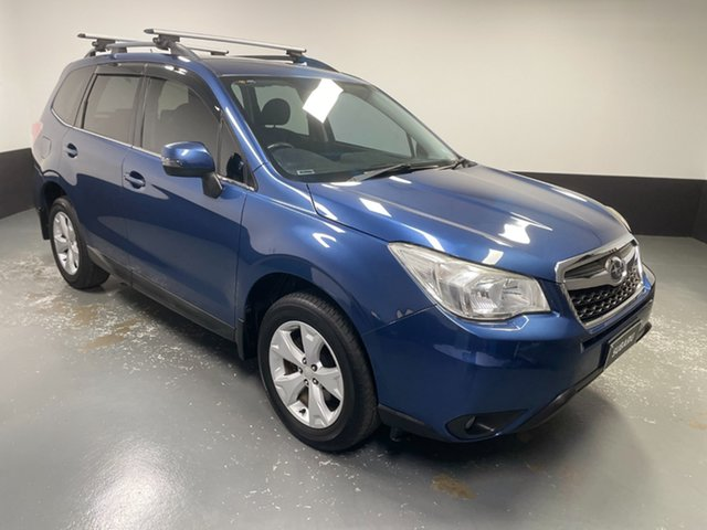 Used Subaru Forester S4 MY13 2.5i-L Lineartronic AWD Raymond Terrace, 2013 Subaru Forester S4 MY13 2.5i-L Lineartronic AWD Blue 6 Speed Constant Variable Wagon