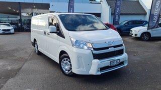 2019 Toyota HiAce GRH300R LWB White 6 Speed Sports Automatic Van