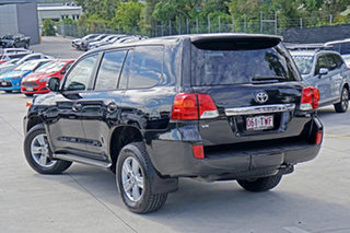 2014 Toyota Landcruiser VDJ200R MY13 VX Black 6 Speed Sports Automatic Wagon.