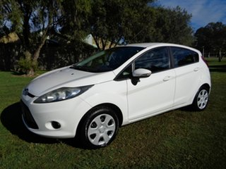 2012 Ford Fiesta WT CL White 5 Speed Manual Hatchback.
