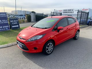 2011 Ford Fiesta WT CL Red 6 Speed Automatic Hatchback.